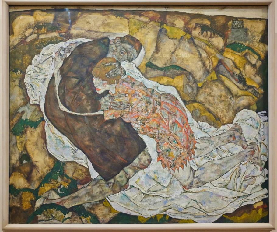 Egon Schiele, Expressionism, Wiener Moderne, Vienna Modernism, Obere Belvedere, Upper Belvedere, Vienna, Wien, Oesterreich, Austria, fotoeins.com