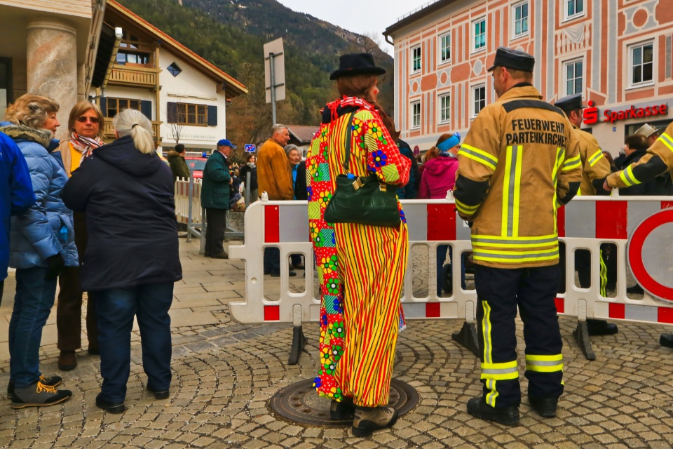 Werdenfelser Fosanacht, Fastnacht, Maschkera, Fosnocht, Fasching, Garmisch-Partenkirchen, Oberbayern, Upper Bavaria, Bavaria, Bayern, Germany, fotoeins.com