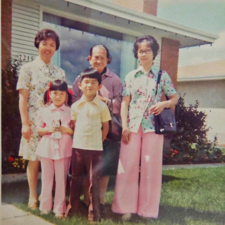 Aunt Jean, Maternal grandmother, Calgary, AB, Canada