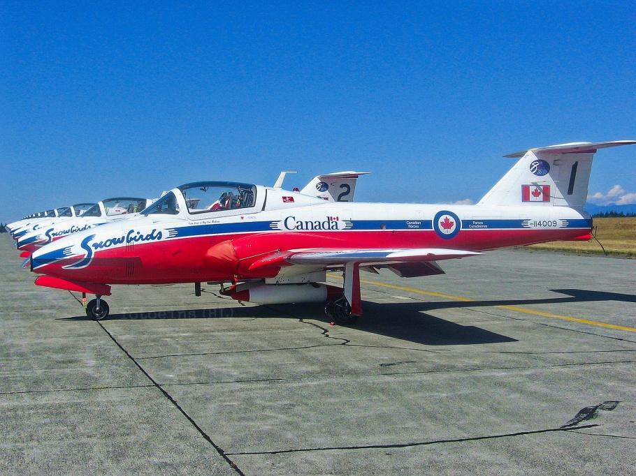 Snowbirds, 431 Air Demonstration Squadron, Royal Canadian Air Force, Canadian Forces, Comox Air Show, CFB Comox, YQQ, Comox, BC, Canada, fotoeins.com