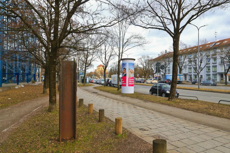 Nordfriedhof, Schwabing-Freimann, U-Bahn, U-Bahn München, Muenchen, Munich, Germany, fotoeins.com