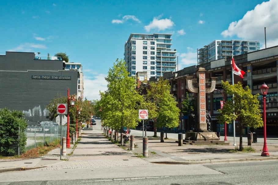 Chinatown Memorial Plaza, Chinatown Memorial Square, Chinatown, Vancouver, BC, Canada, fotoeins.com