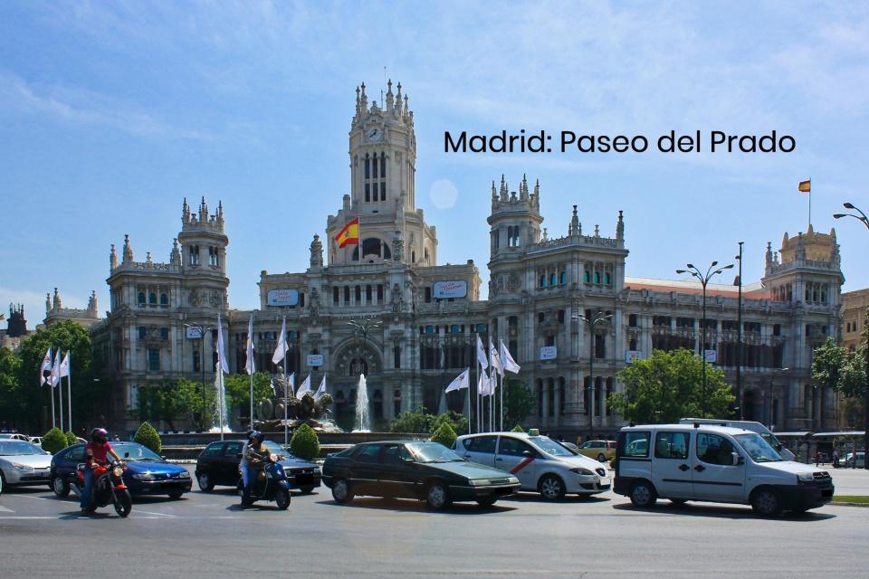 Palacio de Cibeles, Fuente de Cibeles, Plaza de Cibeles, Paseo del Prado, Madrid, Spain, España, fotoeins.com