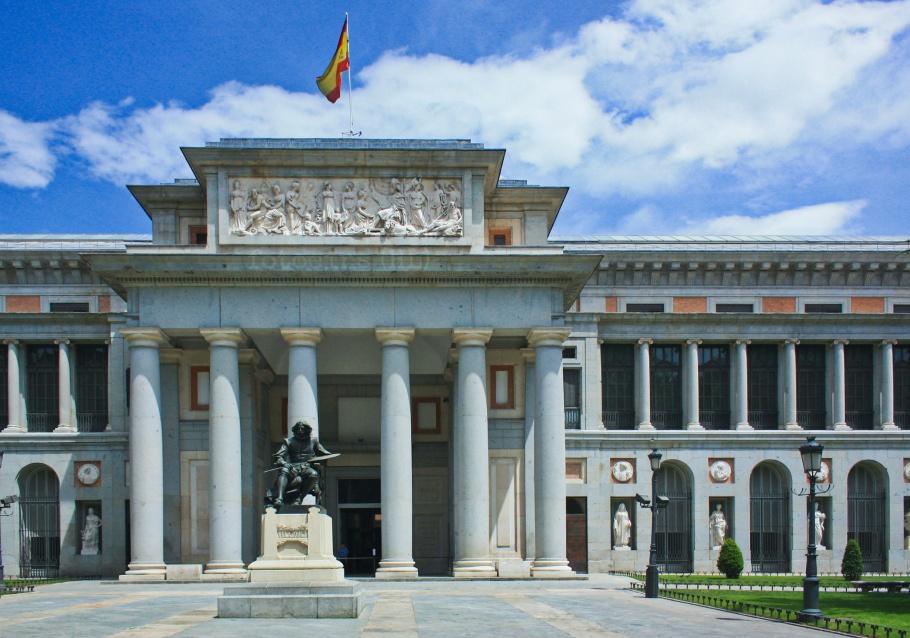 Museo Nacional del Prado, Diego de Velázquez, Aniceto Marinas, Paseo del Prado, Madrid, Spain, España, fotoeins.com