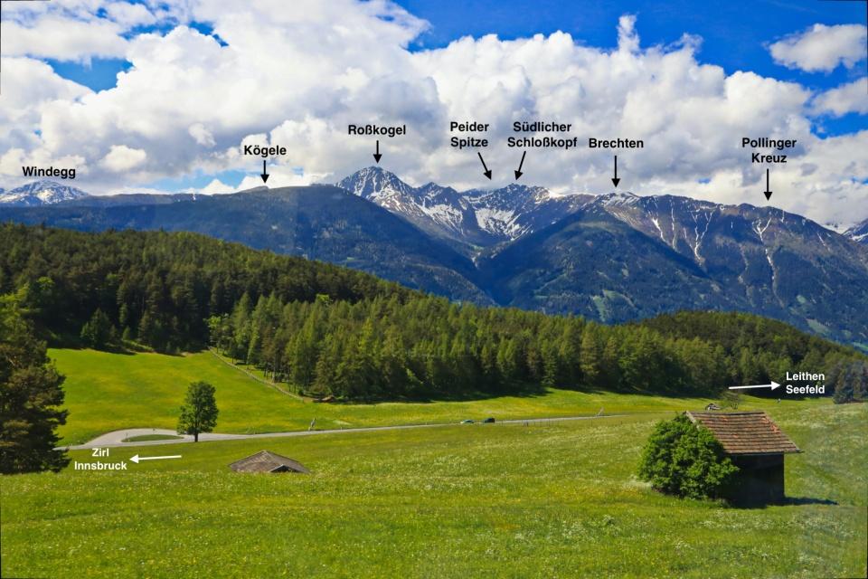 Leithen bei Seefeld, Leithen, Tyrol, Tirol, S-Bahn Tirol, Tyrol S-Bahn, Austria, Österreich, fotoeins.com