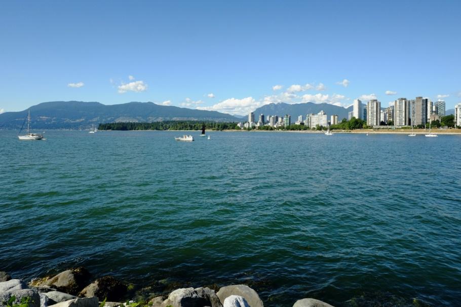 Elsje Point, Kitsilano, English Bay, Salish Sea, Vancouver, BC, Canada, fotoeins.com, Ektachrome 100SW
