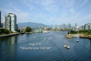False Creek, Cambie Bridge, Vancouver, BC, Canada, fotoeins.com, Ektachrome 100SW