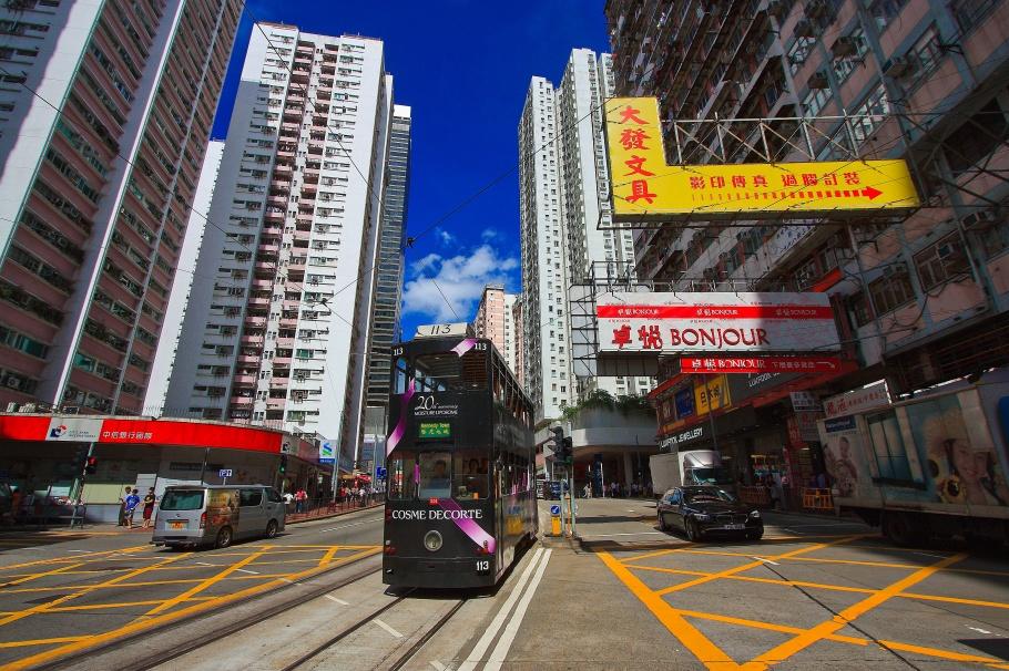 Quarry Bay, King's Road, Westlands Road, Hong Kong Tramways, Hong Kong, fotoeins.com
