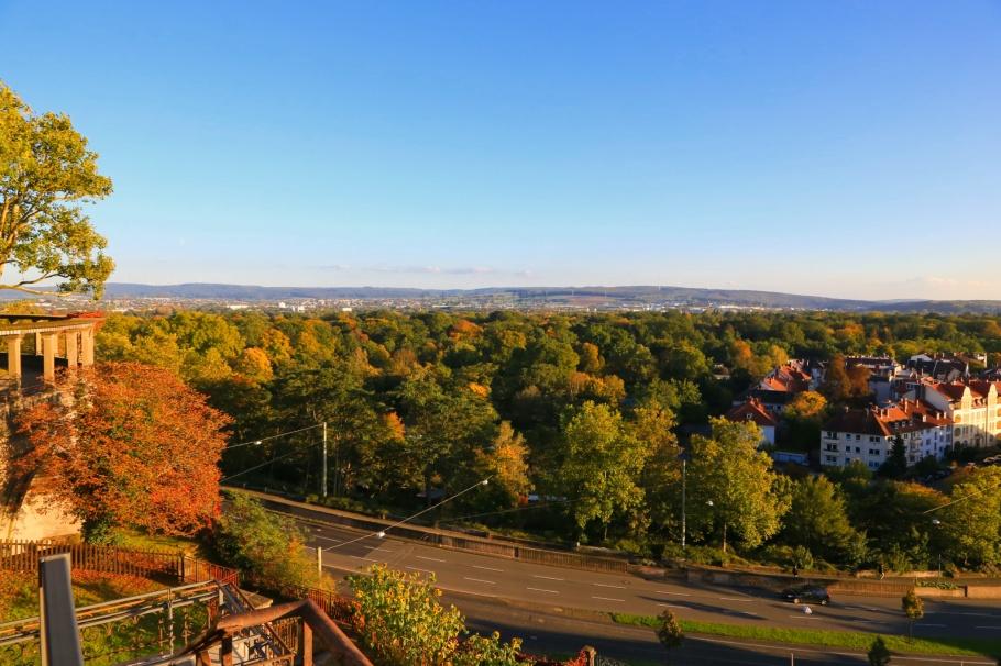 Weinberg, Grimmwelt Kassel, Kassel, Hesse, Hessen, Germany, Deutschland, fotoeins.comFacing south from Weinberg: Kassel - 1 Oct 2017.