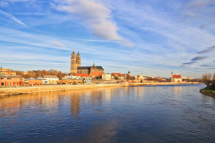 Elbe, Magdeburg, Saxony-Anhalt, Sachsen-Anhalt, Germany, Deutschland, fotoeins.com