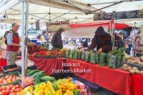 Ballard Farmers Market, Ballard, Seattle, Washington, USA, fotoeins.com