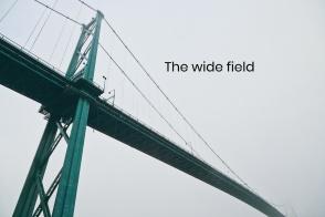 Lions Gate Bridge, Seawall, Stanley Park, First Narrows, Salish Sea, Vancouver, BC, Canada, fotoeins.com