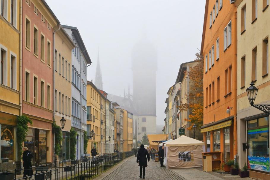 Schlosskirche, Lutherstadt Wittenberg, Wittenberg, Saxony-Anhalt, Sachsen-Anhalt, Germany, Deutschland, UNESCO World Heritage Site, Welterbe, Weltkulturerbe, fotoeins.com