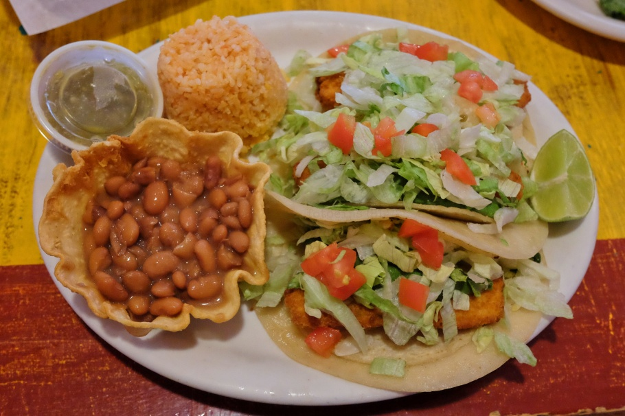 Fish tacos, Posa's El Merendero, Santa Fe, NM, USA, fotoeins.com