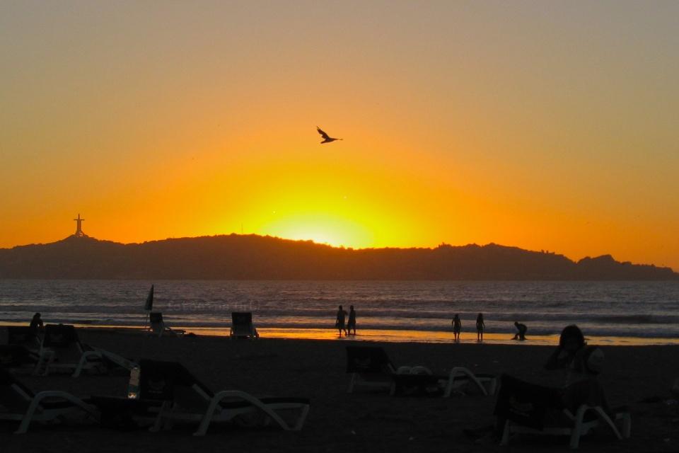 Playa del Mar, Coquimbo, Cruz del tercer milenio, La Serena, Region de Coquimbo, Chile, fotoeins.com